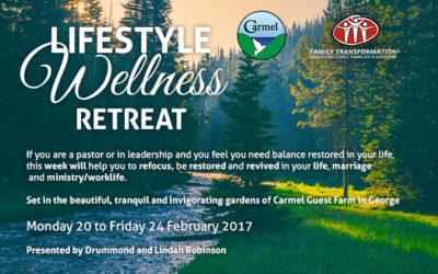 Lifestyle Wellness Retreat 2017 : 20 – 24 February