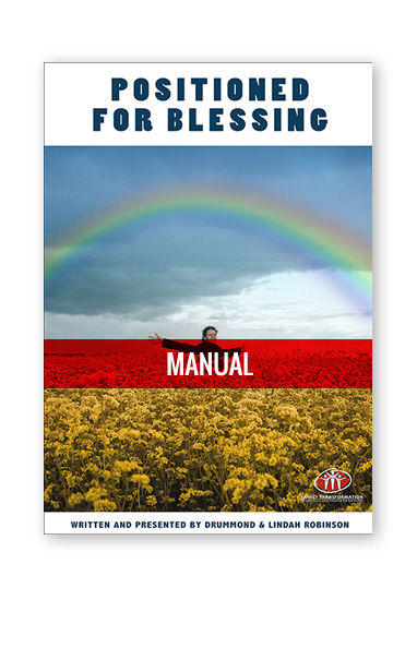 Positioned For Blessing Manuals