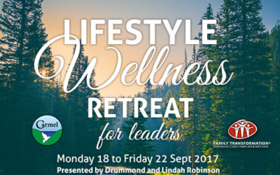Lifestyle Wellness Retreat for Leaders, 18-22 Sept 2017
